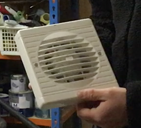 No design prizes for the Manrose fan, but was it Part F Compliant?