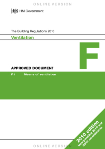 Part F of the Building Regulations - Page 1