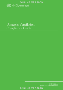Ventilation Commissioning Certificate in Domestic Ventilation Compliance Guide 2010